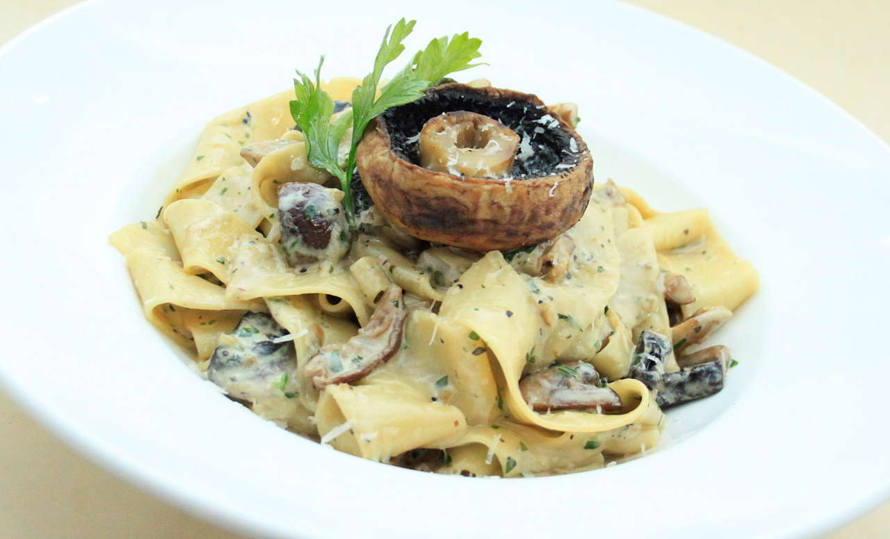 Pappardelle Mixed Mushrooms